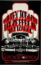 LED ZEPPELIN - HIGH QUALITY 1969 VINTAGE CONCERT POSTER - LOOKS AWESOME FRAMED