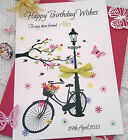 Large Handmade Personalised 30th 40th 50th 18th 21st - Any Age Birthday Card