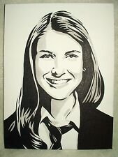 Canvas Painting Natalie Ramos Nina Martin House of Anubis Art 16x12 inch Acrylic