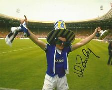 A 10 x 8 inch photo personally signed by John Bailey when playing for Everton.