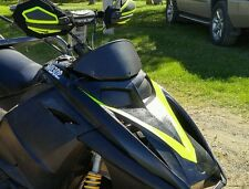 Ski-Doo Rev Black Headlight Covers (Now in Gloss Black)