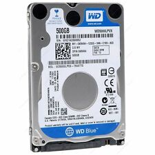 "Western Digital Scorpio Blue 500 GB 5400 RPM 2.5"" WD5000LPVX Hard Drive SATA"