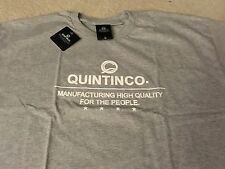 QUINTIN CO TEE SHIRT GREY LARGE L aloha army in4mation