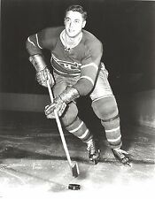 JEAN BELIVEAU 8X10 PHOTO MONTREAL CANADIENS NHL PICTURE B/W