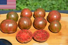 Striped Sweet Oxheart Organic Tomato Seeds- Heirloom Variety-  40+ 2016 Seeds
