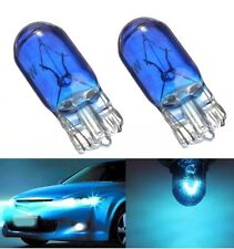T10 W5W 501 5W Halogen Car Dashboard Interior Wedge Bulb Side Light Blue 12V X 2