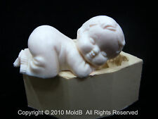 Silicone 3D Baby Mold Mould  for sugarcake,sugar craft,Cupcake, Clay
