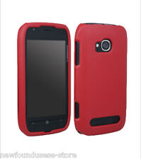 New Nokia Lumia 710 Red 2 Piece Hard Shell Case Cover T-Mobile