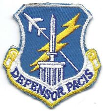 **UNITED STATES AIR FORCE DEFENSOR PACIS SQUADRON 4 500TH AIRWING PATCH**