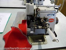 BROTHER 4 THREAD INDUSTRIAL SEWING MACHINE OVERLOCKER WITH RUFFLER