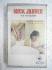 MICK JAGGER SHES THE BOSS RARE CASSETTE INDIA NEW