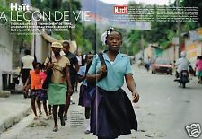 Coupure de Presse Clipping 2013 (8 pages) Haiti ,la lecon de vie