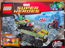 LEGO  Marvel 76017 Captain America vs. Hydra  Avengers Assemble  AGE 6 + NEW