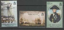 ST.HELENA SG969/71 2005 BATTLE OF TRAFALGAR MNH