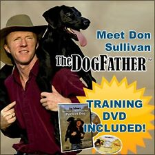 Don Sullivan Perfect Dog Training Command Collar Small DVD Pet Puppy Obedience
