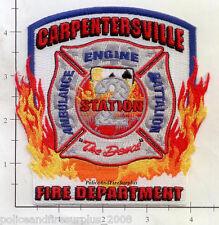 Illinois - Carpentersville Station 2 IL Fire Dept Patch  The Deuce