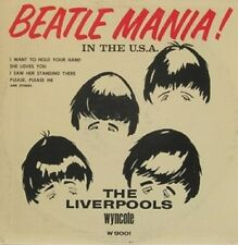 THE LIVERPOOLS - BEATLE MANIA LP  WYNCOTE 9001  RECORDS   MERSEY BEAT