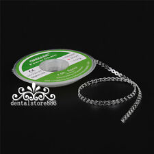 1*Dental Orthodontic Spool Elastic Chain Rubber Band Power Continuou Short Space