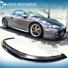 FOR 97-99 MITSUBISHI ECLIPSE PU FRONT BUMPER LIP SPOILER DS STYLE PU BODYKIT