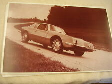 1963 STUDEBAKER AVANTI  ON PROVING GROUNDS?  11 X 17  PHOTO /  PICTURE