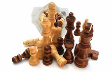 CHESS - Set Of 32 Wooden Parts,Pieces - king size 3 Inch