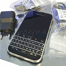 (Ex. Display) QWERTZ BlackBerry Classic Q20 Black SIM Free | 4G 8MP OS10 BBM
