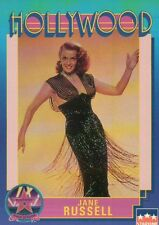 Jane Russell, Actress, Hollywood Star, Walk of Fame Trading Card -- NOT Postcard