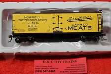 20003811 Morrell Refrigerator 40' Wood Side Reefer Car Brand New In Box