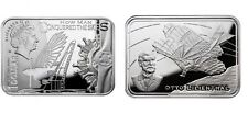 2010 Niue Large Silver Proof 1$ Lilienthal How Man Conquered the Skies