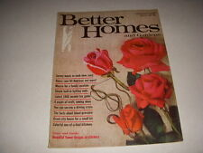 BETTER HOMES AND GARDENS Magazine, February, 1968, SPLIT-LEVEL HOMES, 70'S DECOR