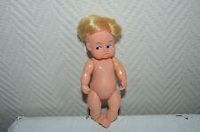 POUPON PET VON PLASTY   ANNEE 1970/80 POUPEE  FRANCE  16 CM  NUE DOLL