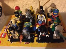 LEGO Collectible Minifigures (CMF) COMPLETE Series 1 set  Of 16 Rare