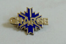 2002 WINTER OLYMPICS Salt Lake City silver CHARGE on BLUE SNOWFLAKE