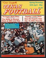 Dave Campbell's Texas Football Magazine Spring Roundup 1976