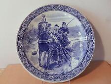 Grand Plat faience Boch Belgium royal Shinx Holland belgique céramique belge