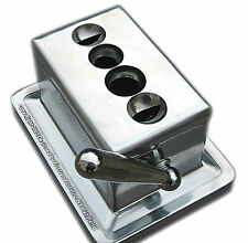 Stainless Steel Quad V Table Cigar Cutter Desktop New In Box - FREE SHIPPING
