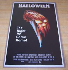 Halloween 11X17 Movie Poster Original Version Michael Myers