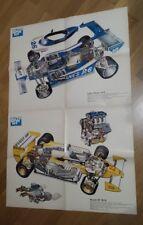 Poster Autosprint Anno  :  Ligier - Gitanes e Renault - Elf