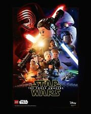 LEGO Star Wars Poster The Force Awakens Episode VII NUEVO / NEW
