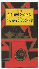 1935 Advertising Booklet The Arts & Secrets of Chinese Cookery La Choy Products