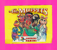 Vintage 1979 Muppets Panini Sticker Pack
