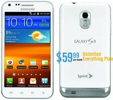 Samsung Galaxy II S White  (1 mth. free service included)