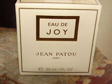 VTG Eau de JOY 30ml by Jean Patou, sealed box,  1 Oz  France Perfume