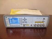 Agilent E4980A 20 Hz to 2 MHz Precision LCR Meter with Options 001 & 002 - CAL'D