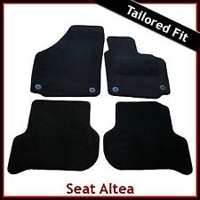 Seat Altea XL / Freetrack 2006 onwards Tailored Fitted Carpet Car Mats BLACK