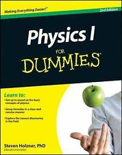 Physics I for Dummies® by Steven Holzner (2011, Paperback)