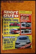 Sport Auto 10/92 Spiess TC 522 Porsche Ruf BR2  DB 190E