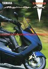 YAMAHA MAJESTY DX XP 250 D - 1998 : Brochure - Dépliant - Moto - Scooter  #0678#