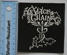 #757 Alice In Chains Sew on Iron On Patch  Rock Band Logo Music Embroidered