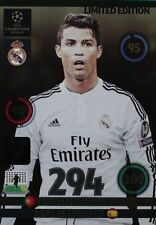 Adrenalyn 2014/15 Christiano Ronaldo limited Edition Champions League 2015 14/15